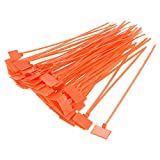 uxcell Cable Zip Ties 6 Inch Label Tag Mark