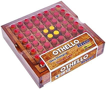 Logica Juegos Art. Othello - Juego De Mesa de Madera Preciosa - Juego de Estrategia para 2 Jugadores - Version de Viaje: Amazon.es: Juguetes y juegos