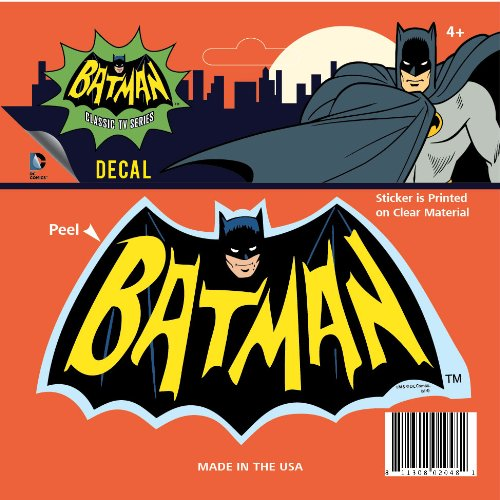 DC+Comics Products : DC Comics ST BM 66LOGO1 Decal (Classic TV Batman '66 TV Show Logo)