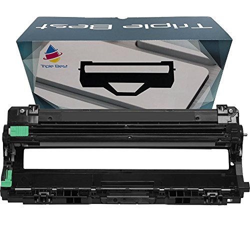 Triple Best Compatible Drum Unit for Brother DR221CL Compatible with TN221 Black TN225 Cyan Magenta Yellow used with HL-3140CW HL-3170CDW HL-3170CDW HL-3170CDW MFC-9130CW (Cyan Drum Unit Cartridge)