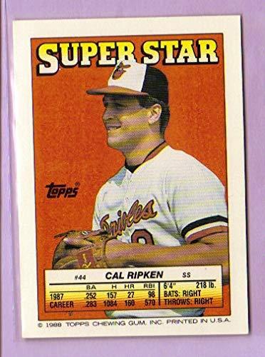 1988 Topps/O-Pee-Chee Sticker Backs #44 Cal Ripken ()