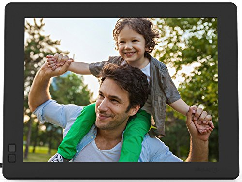 Nixplay Seed 10 Inch WiFi Cloud Digital Photo Frame with IPS Display, iPhone & Android App, Free 10GB Online Storage and Motion Sensor (Black) by nixplay (Image #4)