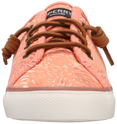 Sperry Top-Sider Damen Seacoast Fish Crcle Coral Sneakers, Pink (Pink), 37 EU