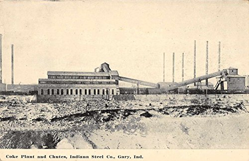 Gary Indiana Steel Co Coke Plant Chutes Antique Postcard J34976 ()
