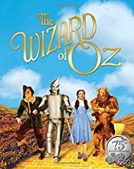 Film stills and original dialogue from the beloved movie The Wizard of Oz tell the tale of a young girl named Dorothy who flies over the rainbow with her dog, Toto, befriends a Tin Man, a Scarecrow, and a Lion on a yellow brick road to the Em...