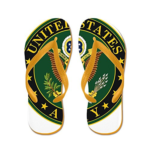 CafePress United States Army - Flip Flops, Funny Thong Sandals, Beach Sandals Orange
