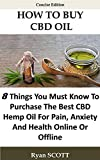 HOW TO BUY CBD OIL
