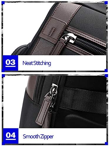 Size 851-008821 Outdoor Breathable Waterproof Anti-Theft Large Capacity Double Shoulder Bag,with USB Charging Port 36x17x41.5cm Durable