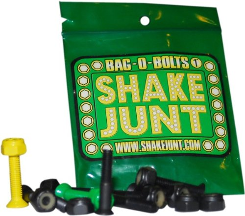 Shake Junt Bag O Bolts Black Green Yellow 1