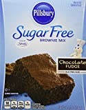 Pillsbury Sugar Free Chocolate Fudge Brownie Mix, 12.35 oz. (Pack of 6)