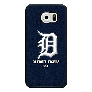 ArtPopTart Galaxy S6 Case,Fashion MLB Detroit Tigers Samsung Galaxy S6 Case [Black Soft Rubber/TPU],Coolest 2015 Cell Phone Case