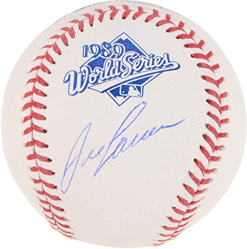 Athletics Autographed 1989 World Series Logo Baseball - Fanatics Authentic Certified (World Series Collectibles)
