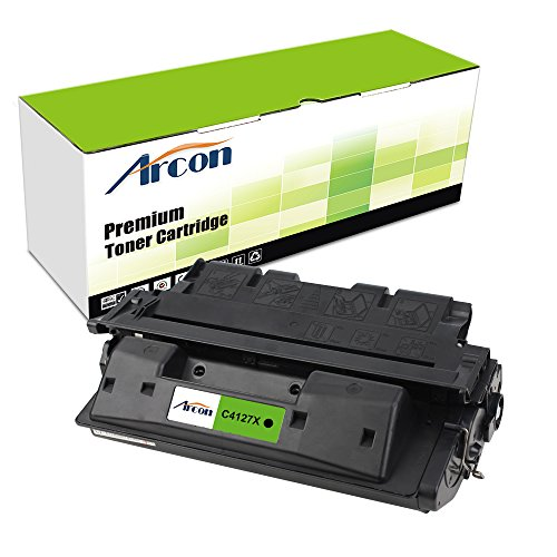 ARCON 1PACK Black Compatible 27X C4127 C4127X Toner Cartridge High Yield 10,000 Pages for LaserJet 4000 4000N 4000SE 4000T 4000TN 4050 4050N 4050DN 4050T 4050TN 4050SE Printer