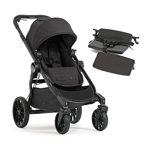 Baby Jogger 2017 City Select LUX Stroller WITH LUX Bench (Granite)