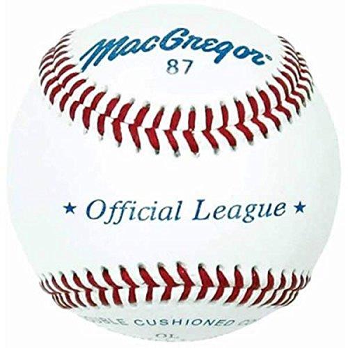 79p Baseballs - MacGregor No. 87OL Official League Baseballs (1 Dozen)