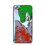 TYTYJ DOOD My Cute Shark Attack Cartoon iPhone 6 Case, iPhone 6S Case