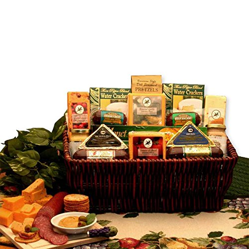 Corporate Gift Baskets Associates Classic Selection Deluxe Meats & Cheese by GiftBasketsAssociates (Image #2)
