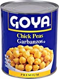 Goya Foods Chick Peas, 110 Ounce (Pack of 6)