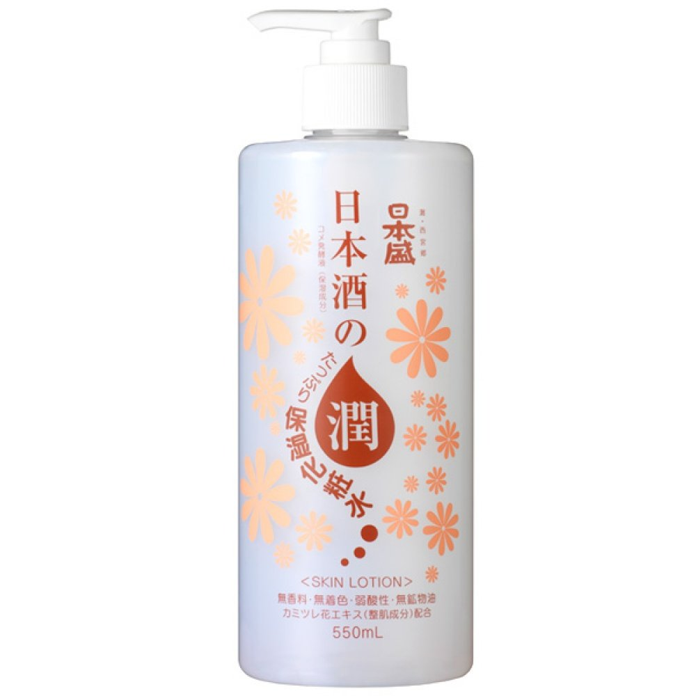 日本盛 日本酒のたっぷり保湿化粧水