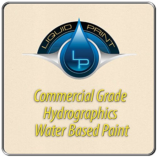 God's Country White Hydrographics Paint - 1 Quart - Water Based - Liquid Print Hydrographics Paint Supplies by Liquid Print