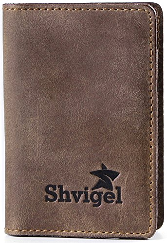 shvigel-credit-card-holder-leather-slim-wallet-case-for-business-men-women-pocket-id-brown