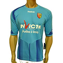 Reebok Racing Club de Lens/Maillot Taille 164 Turquoise RC Lens.