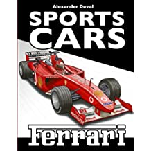 Sports Cars Coloring Book Ferrari