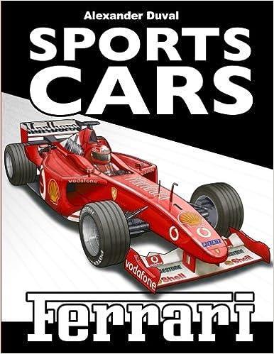 Sports Cars Coloring Book Ferrari: Happy Coloring, Alexander Duval ...
