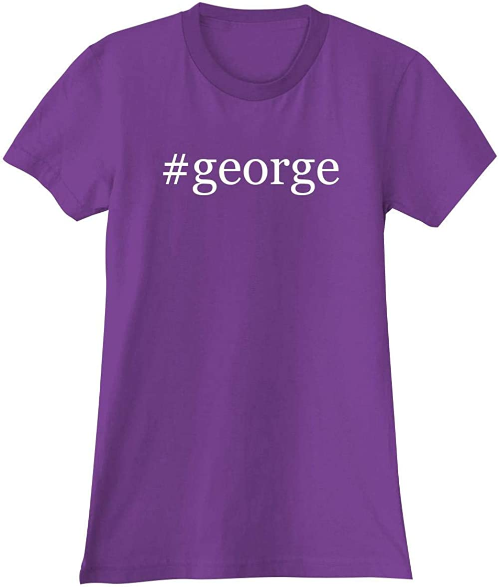 The Town Butler #George - A Soft & Comfortable Hashtag Women's Junior Cut T-Shirt