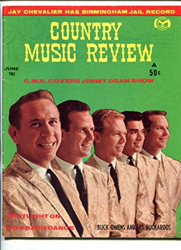 COUNTRY MUSIC REVIEW-JUNE 1965-BUCK OWENS-JIMMY DEAN-MERLE - Music Magazines Review