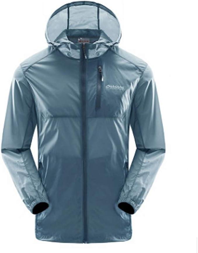 XXT サンプロテクション服メンズ夏のアウトドアスキントレンチコート薄い通気性スーツスポーツ速乾性の服スキン服1819