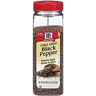 McCormick Table Ground Black Pepper, Black Pepper Seasoning, 16 oz