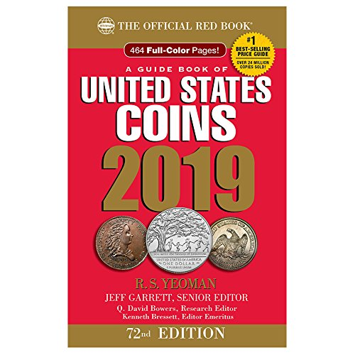 2019 Official Red Book of United States Coins - Hidden Spiral (Guide Book of United States Coins)