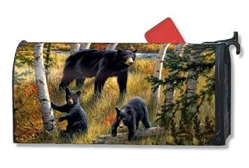 amazon com black bear mailbox cover baby