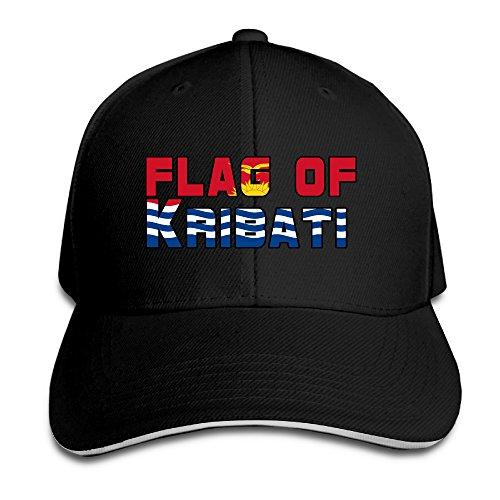 flag-of-kribati-cotton-adult-sandwich-peakedflat-cap-gift