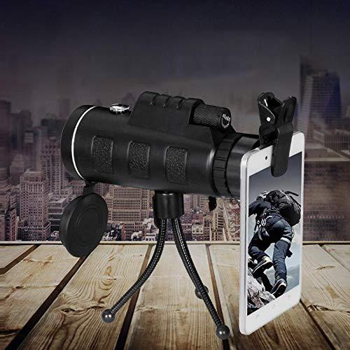 Pergamena Rate Monocolo telescopio HD 40X 60visione notturna Portable per escursionismo viaggio vacanze PerGrate
