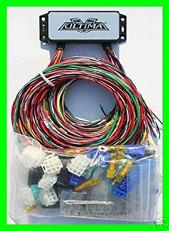amazon.com: ultima 18-533 complete plus electronic wiring system for harley  custom choppers: automotive  amazon.com