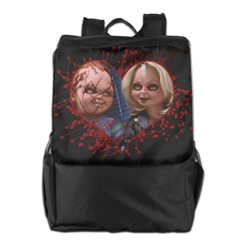 CHUCKY DOLL Bloody Casual College Backpack Laptop Bag School Travel Daypack