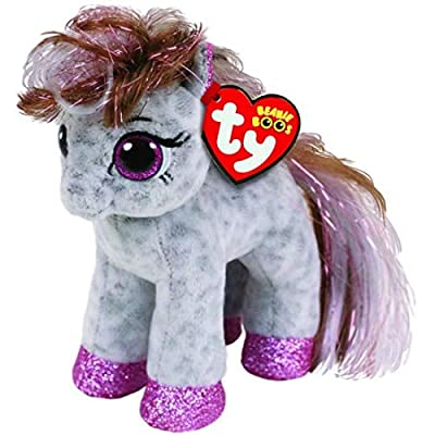 "Ty Beanie Boos 6"" Cinnamon Magical Pony, Perfect Plush!: Toys & Games"