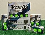 4 Dozen Volvik Vivid XT Matte Green Golf Balls - New in Box