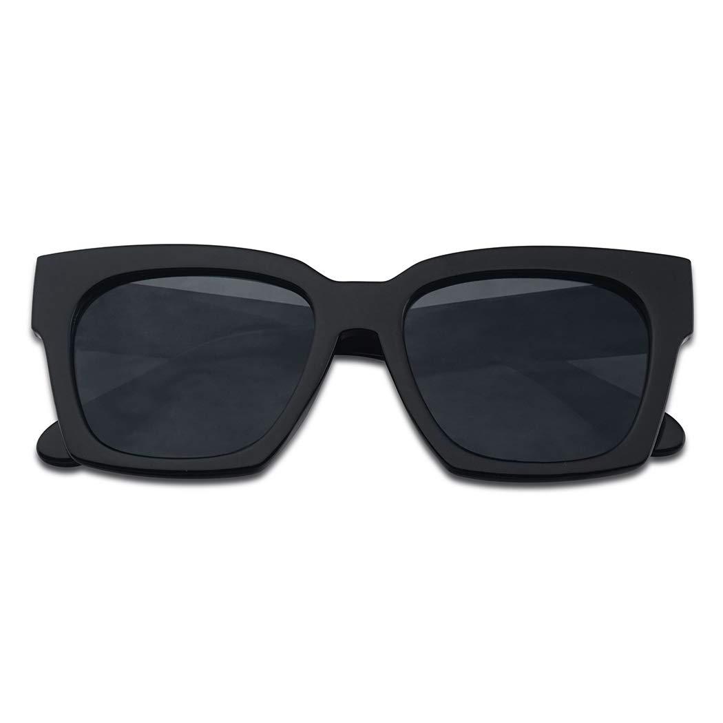 Amazon.com: Gafas de sol para mujer, tamaño grande, casuales ...