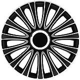 PETEX RB543514 Radzierblende LeMans Pro Größe 14 Zoll 2-fach lackiert Material: ABS in Box, schwarz - 4-er Set