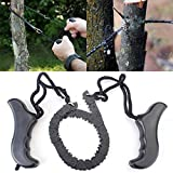 Garden Hand Chain Saw Steel Alloy Trimming Saw Outdoor Portable Saw