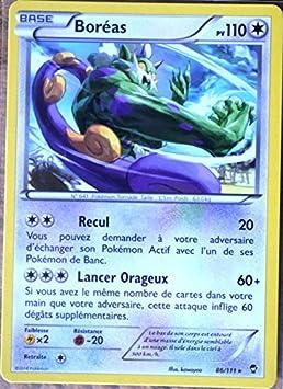 Carte Pokemon 86 111 Boreas 110 Pv Rare Xy03 Xy Poings Furieux Neuf Fr Amazon Fr Jeux Et Jouets