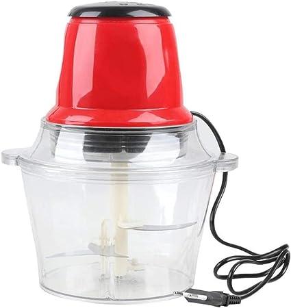 Picadora De Carne Eléctrica, Robot De Cocina Cocina De Su Casa para Mezclar Y Triturar Carne Y Verduras, Rellenos Caseros Y Condimentos, Rojo: Amazon.es
