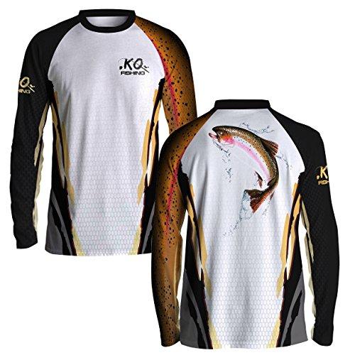 KO Fishing Trout Fish Scale Shirt Series - Long Sleeve