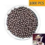 Fabcell Slingshot Ammo Balls – 1000pcs 3/8 Inch (10mm) Hard Clay Slingshot