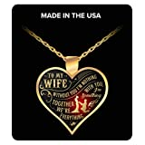 The Perfect Gift! - NECKLACE I LOVE MY WIFE Best wedding anniversary gift, Annual day gift, wedding gift, birthday gift for wife, wife gifts
