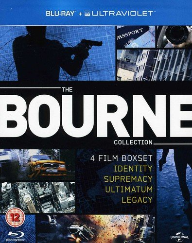 (The Bourne Collection (Identity / Supremacy / Ultimatum / Legacy) [Blu-ray] [Import])