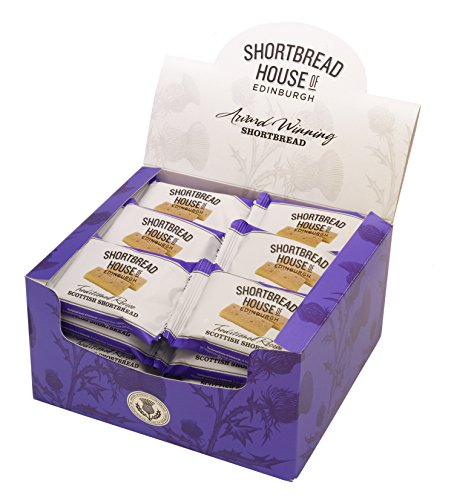 Shortbread House of Edinburgh Two Shortbread Fingers-Original Recipe, 1.8-Ounce Packages (Pack of 36) Shortbread Fingers